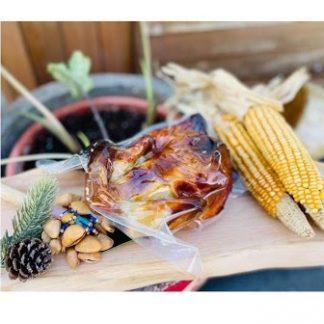 刺蔥月桃脆皮烤雞